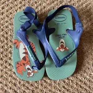 [LIKE 🆕] Havaianas Baby: Tigger Sandals
